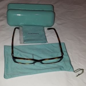 Tiffany & Co. eyeglasses.